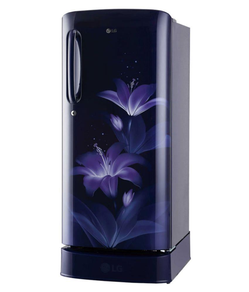 LG 190L Direct Cool Single Door  5 Star Inverter Direct-Cool Single Door Refrigerator