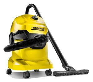 Karcher WD3* EU-I/WD3* EU Wet & Dry Vacuum Cleaner  (Black, Yellow)