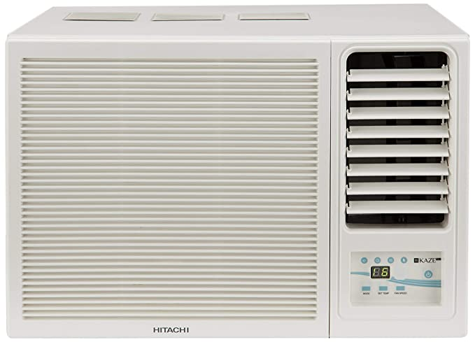 Hitachi 1 Ton 3 Star Window AC - White  (RAW312KWD)