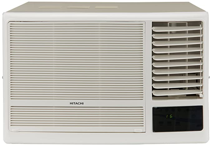 Hitachi 1.5 Ton 5 Star Window AC - White  (RAW518KUDZ1, Copper Condenser)
