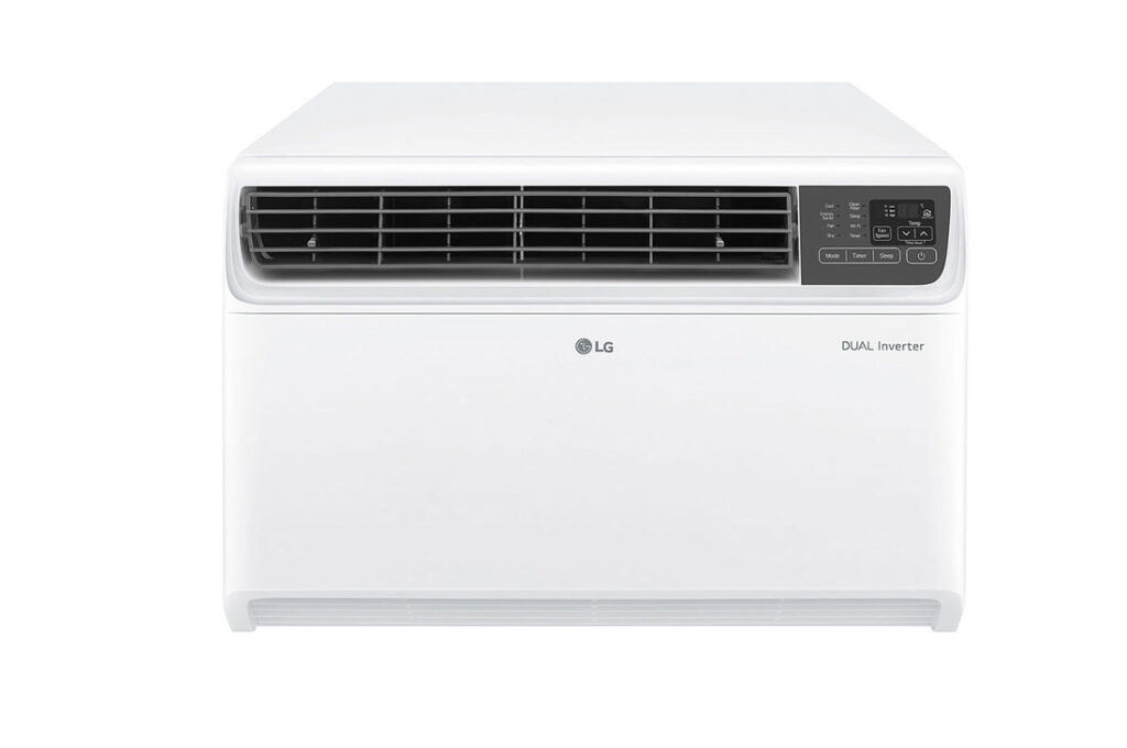 LG 1.5 Ton 5 Star Window AC with Wi-fi Connect - White  (JW-Q18WUZA)