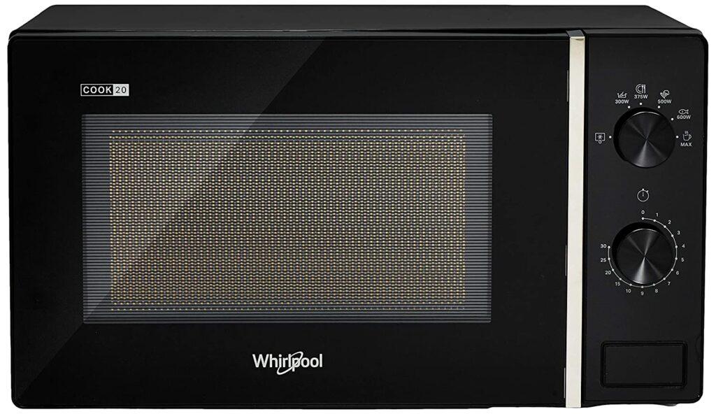 Whirlpool 20 L Solo Microwave Oven  (MAGICOOK PRO 20SM BLACK, Black)