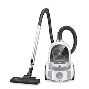 Kent KSL-160 Bagless Dry Vacuum Cleaner  (Silver, White)
