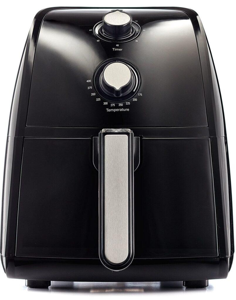 BELLA 14538 1500W Electric Hot Air Fryer with Removable Dishwasher Safe Basket, 2.5 L,-min