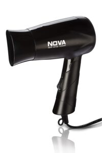Nova Silky Shine Hot And Cold Foldable NHP 8100 Hair Dryer