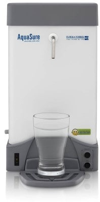 Eureka Forbes Aquasure from Aquaguard Aquaflo DX Wall Mountable UV White 120 L/hr Water Purifier