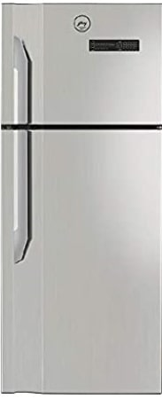 Godrej 328 L 2 Star Inverter Frost-Free Double Door Refrigerator (RF EON 328B 25 HCIT ST RH, Steel Rush, 4 in 1 Convertible)