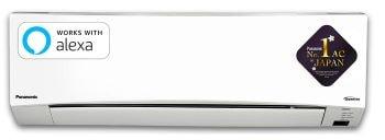 Panasonic 1.5 Ton 3 Star Wi-Fi Twin Cool Inverter Split AC ( CS/CU-SU18WKYW White)