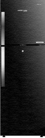 Voltas Beko 270 L 3 Star Inverter Frost-Free Double Door Refrigerator (RFF293BF, Wooden Black)