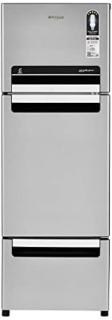 Whirlpool 240 L Frost-Free Multi-Door Refrigerator (FP 263D PROTTON ROY, German Steel)