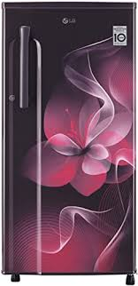 LG 188 L 3 Star Inverter Direct-Cool Single Door Refrigerator (GL-D191KPDX, Purple Dazzle)