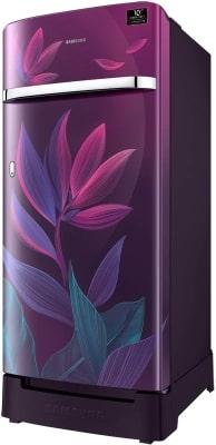 Samsung 198 L 5 Star Inverter Direct-Cool Single Door Refrigerator (RR21T2G2WCR/HL, Camellia Purple)