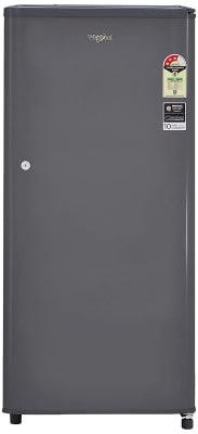 Whirlpool 190 L 3 Star Direct-Cool Single Door Refrigerator (WDE 205 CLS 3S, Grey)