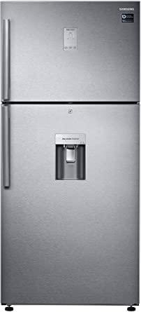 Samsung 523 L 2 Star ( 2019 ) Frost Free Double Door Refrigerator(RT54K6558SL/TL, Silver)
