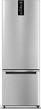 Whirlpool 355 L 3 Star Frost Free Double Door Refrigerator (IF PRO BM INV 370 ELT+, Omega Steel, Bottom Freezer)