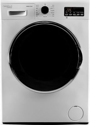 Hafele MARINA 7012 W, 7kg Fully-Automatic Front Loading Washing Machine with In-Built Heater, Anti Allergenic Programme, 15 Smart Wash Programs, 1200RPM Spin Speed, White