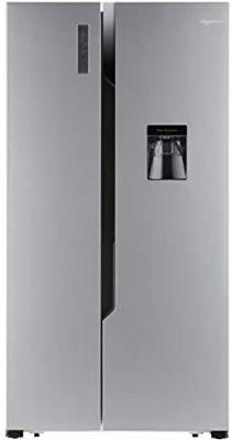 AmazonBasics 564 L Side-by-Side Door Refrigerator-min