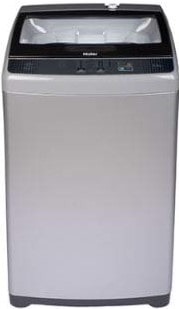 Haier 6.2 kg Fully-Automatic Top Loading Washing Machine (HWM62-707E, Silver Grey)-min