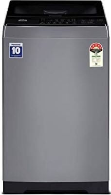 Panasonic 6 Kg 5 Star Fully-Automatic Top Loading Washing Machine (NA-F60LF1HRB, Grey)-min