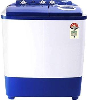 Panasonic 6.5 kg 5 Star Semi-Automatic Top Loading Washing Machine (NA-W65E5ARB, Blue, Powerful Motor)-min