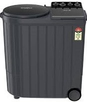 Whirlpool 10.5 kg 5 Star Semi-Automatic Top Loading Washing Machine (ACE XL 10.5, Graphite Grey, 3D Scrub Technology)