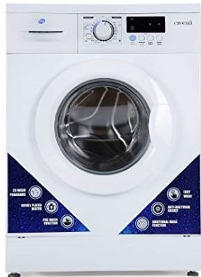 Croma 6kg Fully Automatic Front Load Washing Machine (CRAW0151, White)
