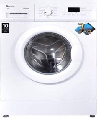 Koryo 7 kg Fully-Automatic Front Loading Washing Machine